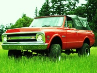 1970 Chevrolet Blazer Picture Gallery
