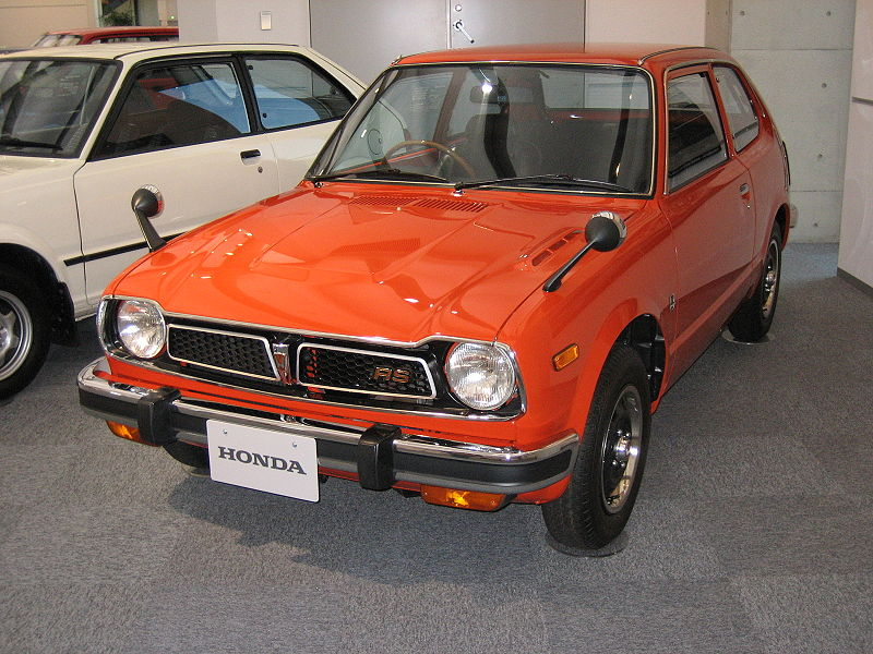 Honda 3000i. 1973 Honda Civic