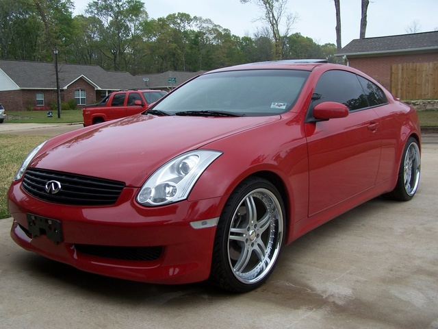 2006 infiniti g35 coupe hp