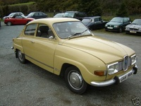 1971 Saab 96 Overview