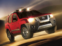 2010 Nissan Xterra, Front Right Quarter View, exterior, manufacturer