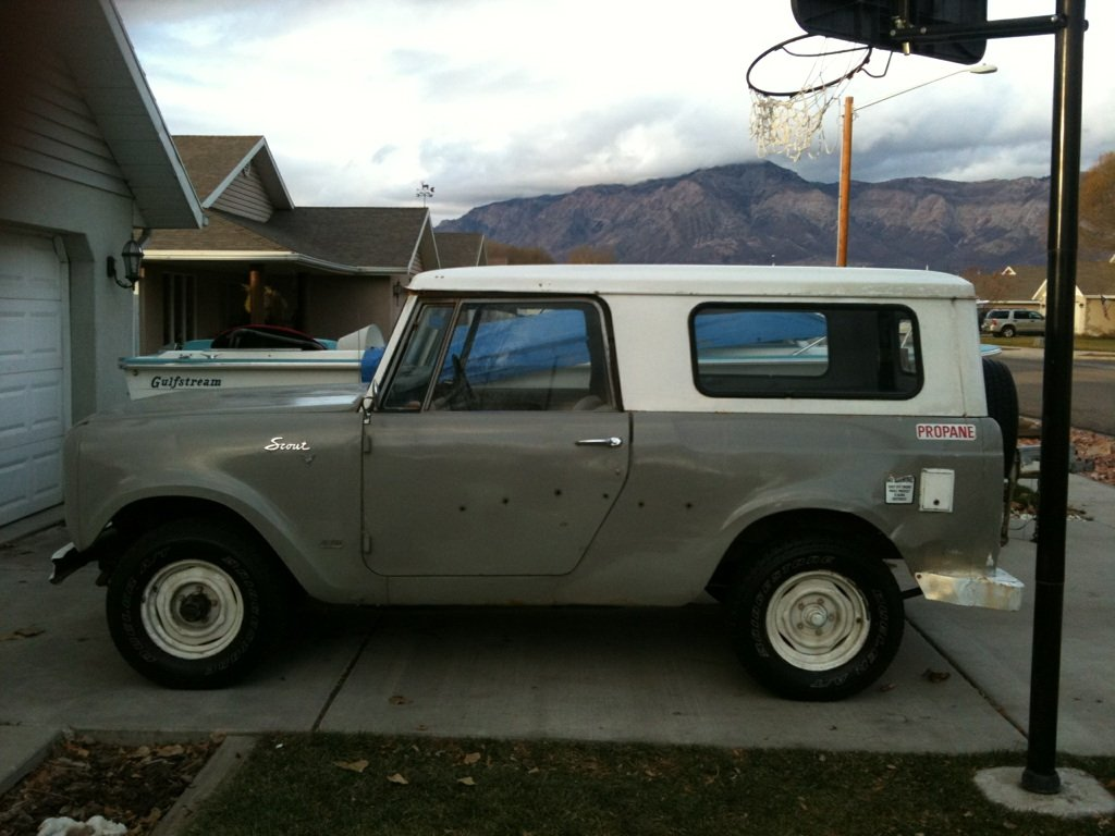 1968 International Harvester Scout picture, exterior