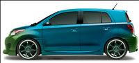 2010 Scion xD, Left Side View, exterior, manufacturer