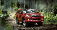 2010 Toyota 4Runner, Front Right Quarter View, manufacturer, exterior