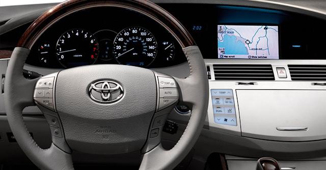 2010 Toyota Avalon, Interior View, interior, manufacturer