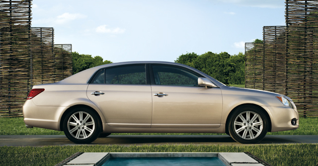 2010 Toyota Avalon, Right Side View, manufacturer, exterior