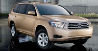 2010 Toyota Highlander Hybrid, Front Right Quarter View, manufacturer, exterior
