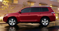 2010 Toyota Highlander Hybrid, Left Side View, exterior, manufacturer