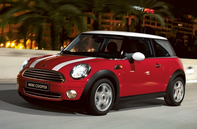 2010 MINI Cooper, Front-quarter view, exterior, manufacturer, gallery_worthy