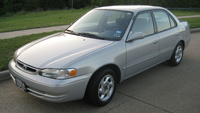 1999 Toyota Corolla Picture Gallery