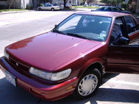 Picture of 1992 Nissan Stanza XE Sedan, exterior