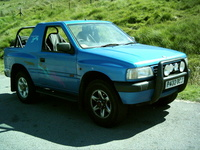 1991 Vauxhall Frontera Overview