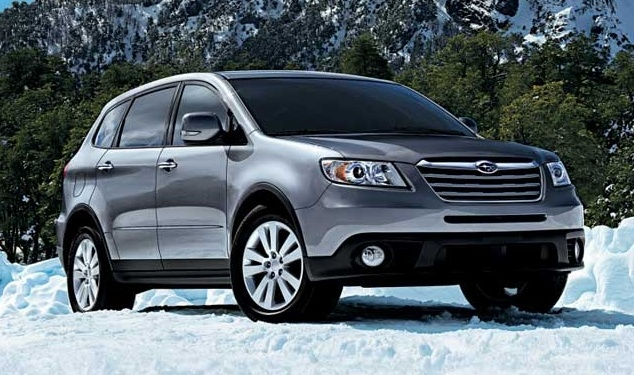 2010 Subaru Tribeca, Front-quarter view, exterior, manufacturer, gallery_worthy