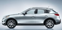 2010 INFINITI EX35, side view, exterior, manufacturer