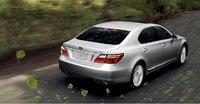 2010 Lexus LS 600h L, back view, exterior, manufacturer