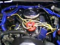 1985 Ford Mustang GT picture, engine
