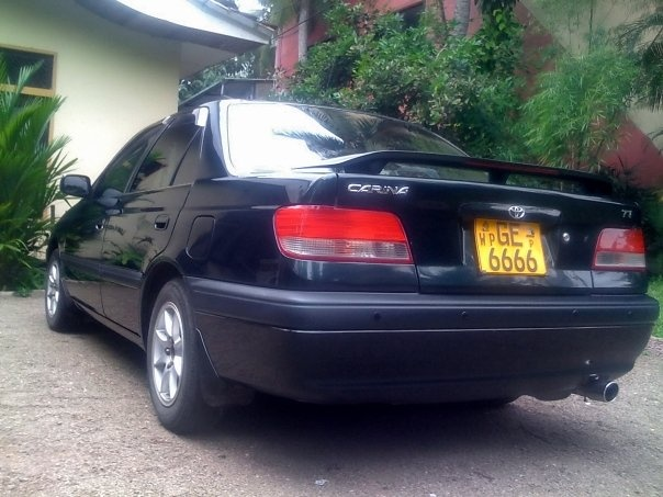 Picture of 1998 Toyota Carina, exterior