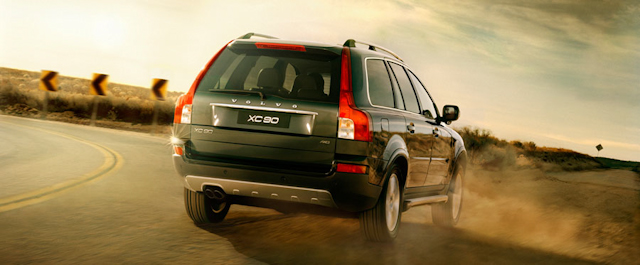 2010 Volvo XC90, Back Right Quarter View, exterior, manufacturer