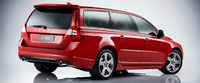 2010 Volvo V70, Back Right Quarter View, exterior, manufacturer