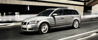 2010 Volvo V50, Left Side View, manufacturer, exterior