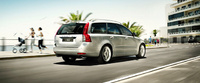2010 Volvo V50, Back Right Quarter View, manufacturer, exterior