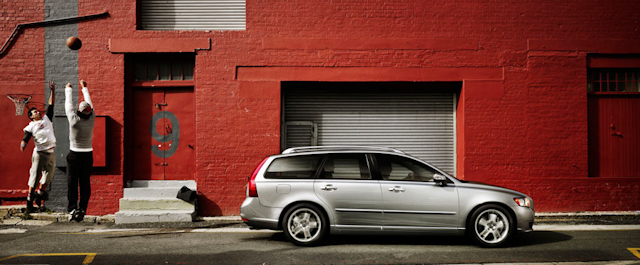 2010 Volvo V50, Right Side View, manufacturer, exterior