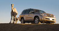 2010 Toyota Land Cruiser, Front Right Quarter View, exterior, manufacturer