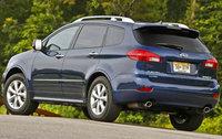 2010 Subaru Tribeca, Back Left Quarter View, exterior, manufacturer