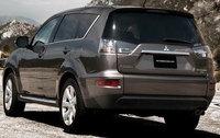 2010 Mitsubishi Outlander, Back Left Quarter View, exterior, manufacturer