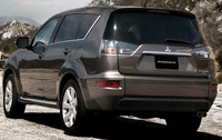 2010 Mitsubishi Outlander, Back Left Quarter View, exterior, manufacturer