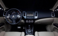 2010 Mitsubishi Outlander, Interior View, manufacturer, interior