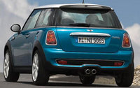 2010 MINI Cooper, Back Right Quarter View, manufacturer, exterior