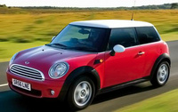 2010 MINI Cooper, Front Left Quarter View, manufacturer, exterior