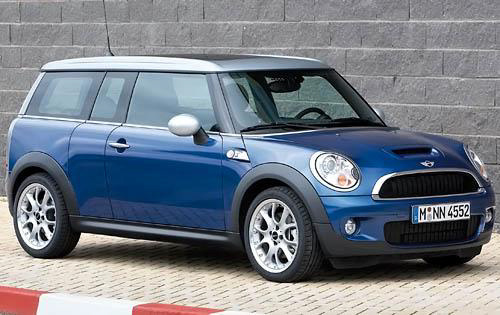 2010 MINI Cooper Clubman, Front Right Quarter View, exterior, manufacturer
