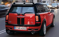 2010 MINI Cooper Clubman, Back View, manufacturer, exterior