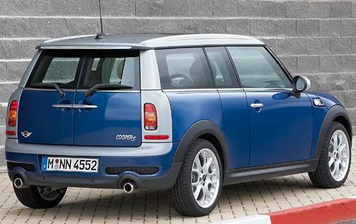 2008 MINI Cooper Clubman, Back Right Quarter View, exterior, manufacturer