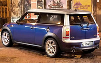 2010 MINI Cooper Clubman, Back Left Quarter View, manufacturer, exterior