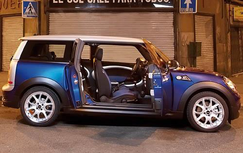 2010 MINI Cooper Clubman, Right Side View, interior, exterior, manufacturer