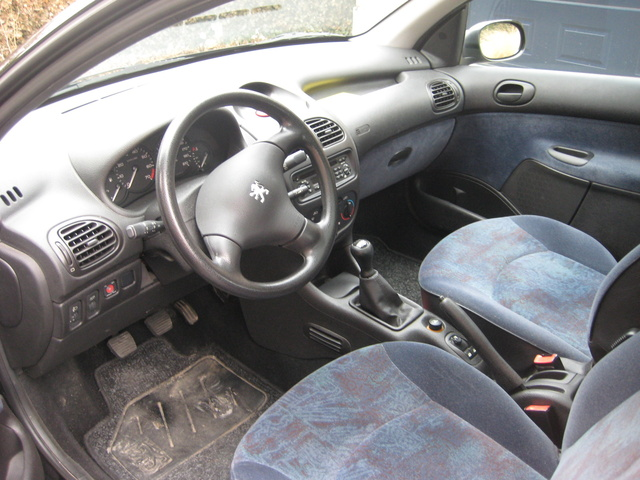 2000 peugeot 206 interior pictures cargurus. Black Bedroom Furniture Sets. Home Design Ideas