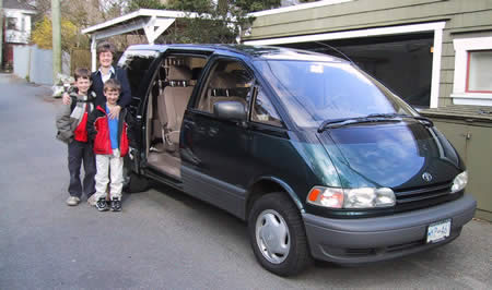 The Toyota Previa saw a few important changes in 1994