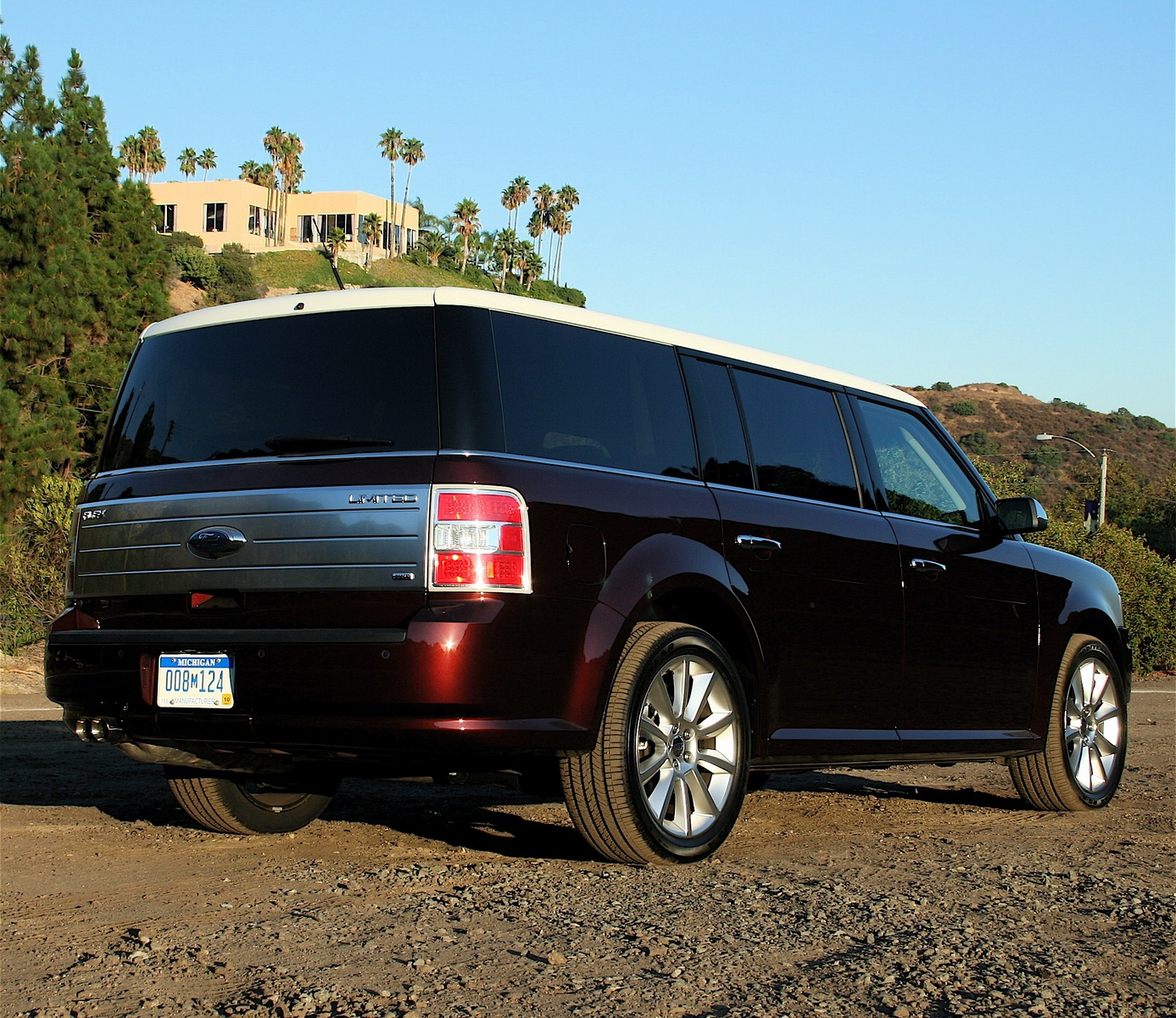 2009 ford flex review ratings specs prices and photos. Black Bedroom Furniture Sets. Home Design Ideas