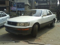 1996 Toyota Avalon, 1991 Lexus LS 400 4 Dr STD Sedan picture, exterior