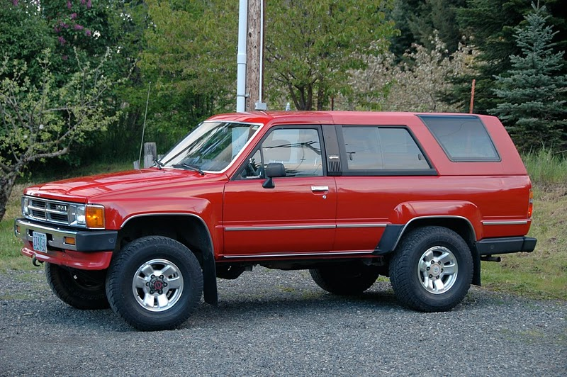 1st gen toyota 4runner specs. Black Bedroom Furniture Sets. Home Design Ideas