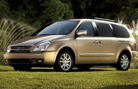 2010 Kia Sedona, Front-quarter view, exterior, manufacturer, gallery_worthy