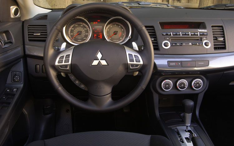 Mitsubishi Lancer 2009 Interior