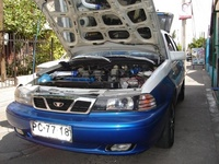 1996 Daewoo Nexia picture, engine