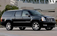 2010 Cadillac Escalade ESV, Front Right Quarter View, exterior, manufacturer