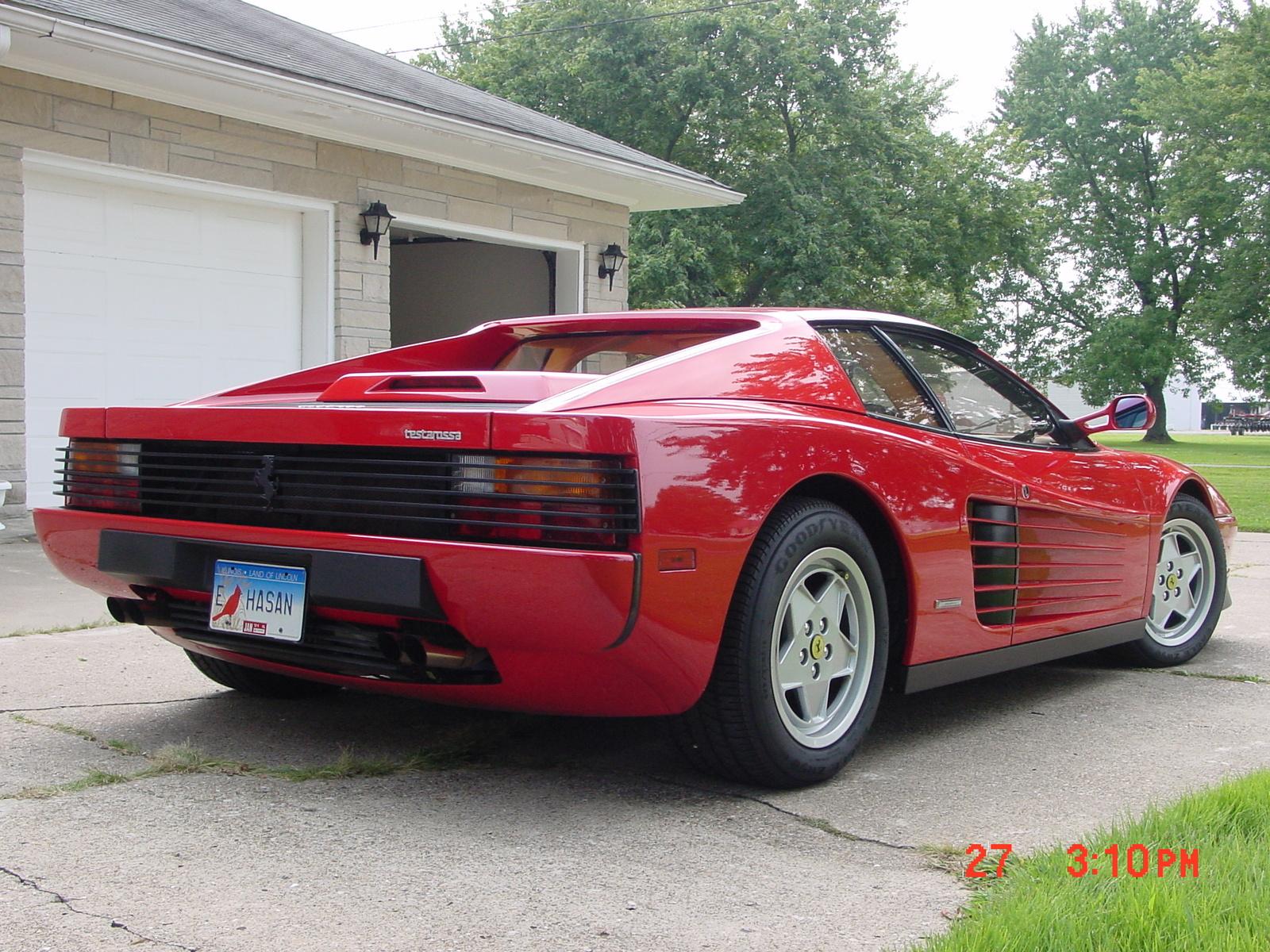 1990 Ferrari Testarossa Pictures Cargurus