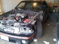 1988 Ford Mustang GT picture, engine