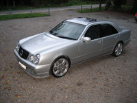 2001 Mercedes-Benz E-Class E55 AMG, 2001 Mercedes-Benz E55 AMG 4 Dr STD Sedan picture, exterior